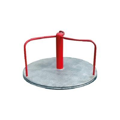 karuzela gwiaździsta / trójramienna na plac zabaw