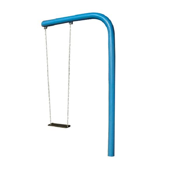 Huśtawka ramieniowa metalowa pojedyncza na plac zabaw