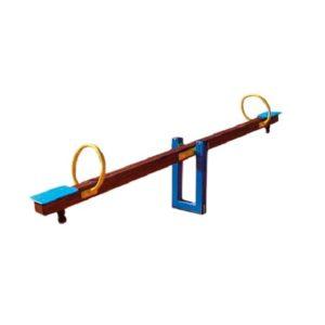 Huśtawka wagowa / ważka drewniana na plac zabaw