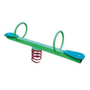 Huśtawka wagowa / ważka na sprężynie metalowa na plac zabaw