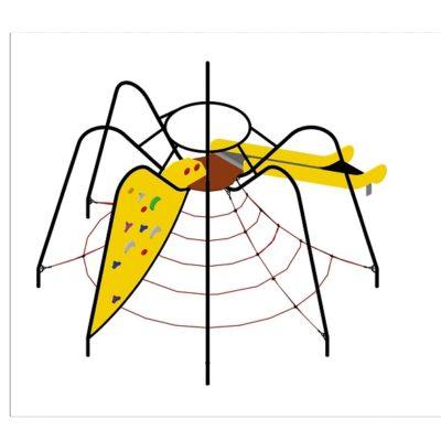 tekla / pająk na plac zabaw