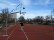 Kosz do koszykówki na boisko