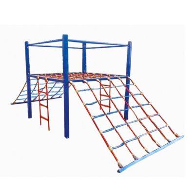 Linarium - zestaw sprawnościowy linowy na plac zabaw