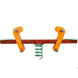 Huśtawka wagowa na sprężynie na plac zabaw