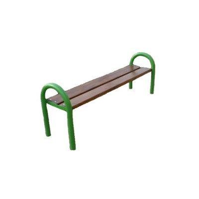 ławka klasyczna bez oparcia