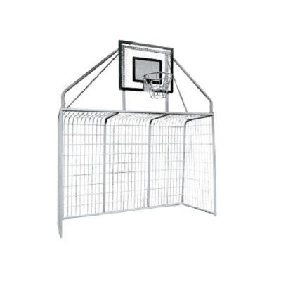 Bramka z koszem do koszykówki / Bramkokosz na boisko