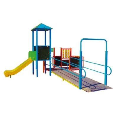 Zestaw wieżowy integracyjny na plac zabaw