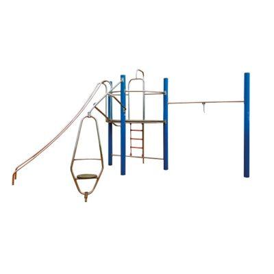 Zestaw sprawnościowy małpi gaj metalowy na plac zabaw