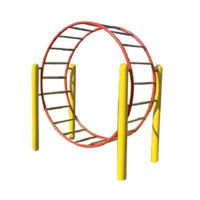 przeplotnia kołowa na plac zabaw
