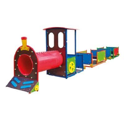 lokomotywa na plac zabaw