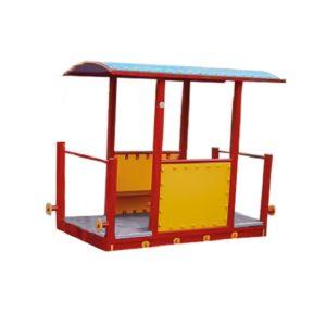 wagon z dachem na plac zabaw