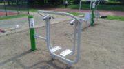 biegacz – urządzenia fitness / siłownie na zewnątrz