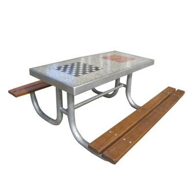 Stolik betonowy do gry w szachy/chińczyka/karty na plac zabaw