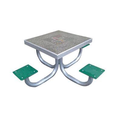 Stolik betonowy kwadratowy do gry w szachy/chińczyka/karty na plac zabaw