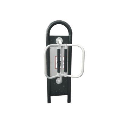 masazer plecow - urządzenia fitness siłownia na zewnątrz