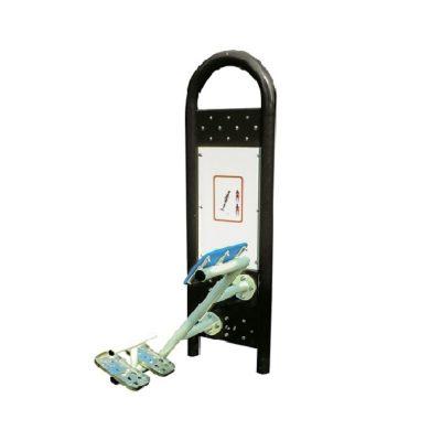 prostownik pleców - urządzenia fitness siłownia na zewnątrz