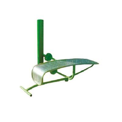 ławka - urządzenia fitness siłownia na zewnątrz