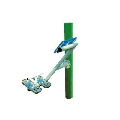 prostownik pleców- urządzenia fitness siłownia na zewnątrz