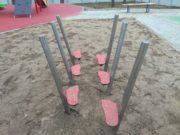 Równoważnia stopki na plac zabaw