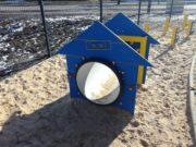 Tunel przejściowy – buda dla psów na wybieg dla psów, psi