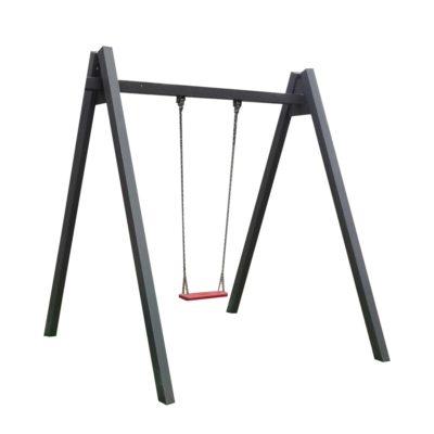 Huśtawka łańcuchowa pojedyncza (metalowa)