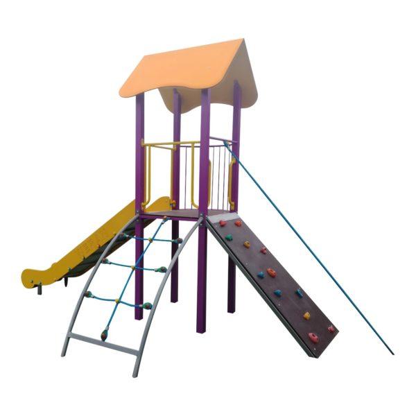 Zestaw wieżowy na plac zabaw