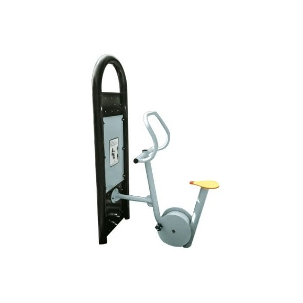 Urządzenie fitness - siłownia na zewnątrz rowerek